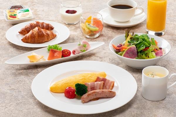 【朝食のご案内】ブッフェスタイルからセットメニューに変更させていただいております。