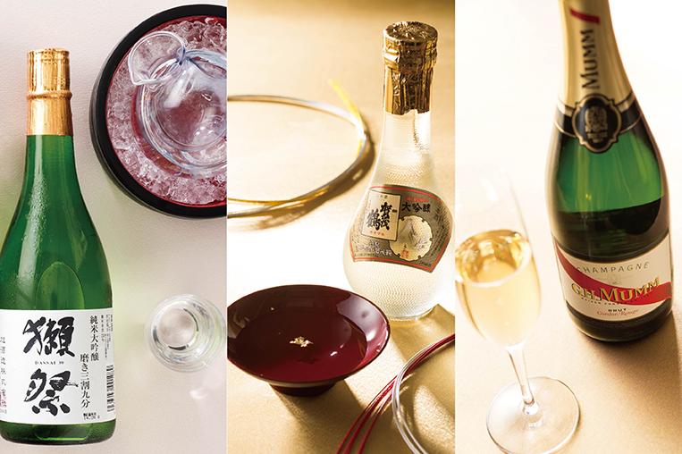 【8名様以上・10日前までのご予約限定】</br>獺祭やゴールド賀茂鶴・シャンパンをボトルでプレゼント!