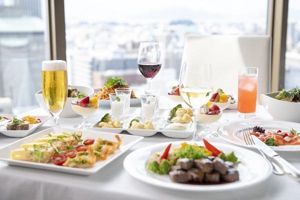 最上階レストランでリッチにランチパーティー【~2019.11.30(土)まで】