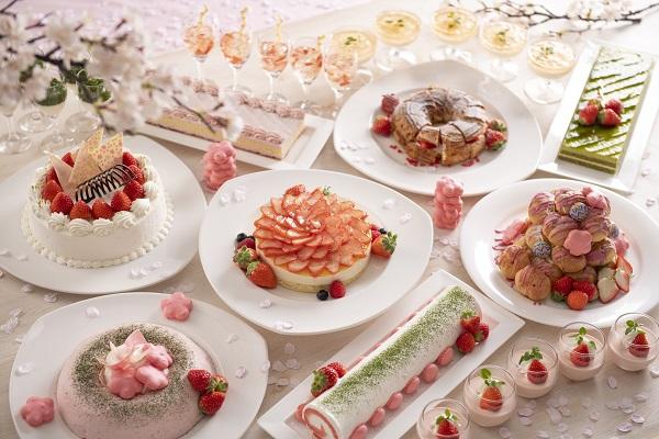 Strawberry Sweets Buffet 第2弾 ~イチゴとサクラ~【2019.3.15(金)~4.12(金)《平日限定》】