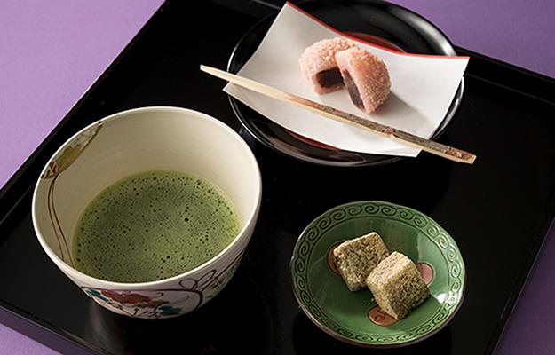 日本料理「雲海」土日祝日限定【茶菓セット】
