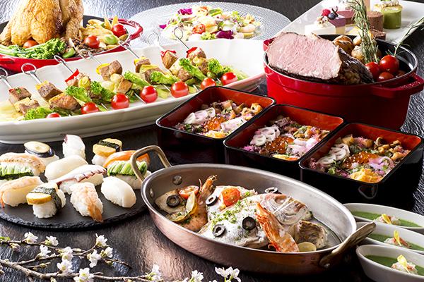 【フリュティエディナー】春のお祝いブッフェ
