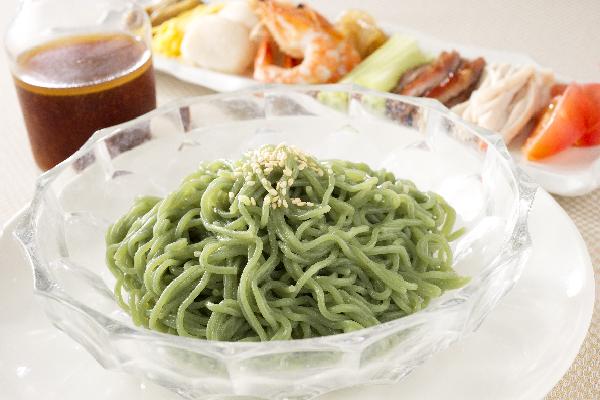 翡翠冷麺セット