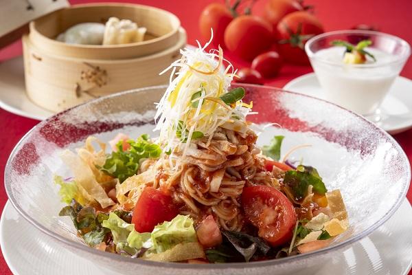 《夏季限定》トマト冷麺セット 〜8.31まで