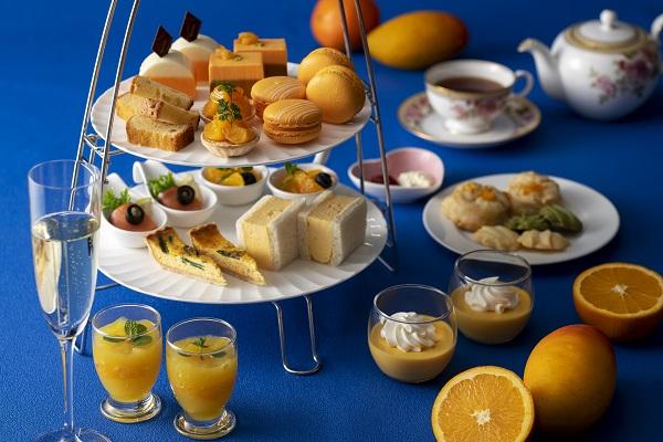 マンゴー&オレンジアフタヌーンティー《5:00p.m.まで》