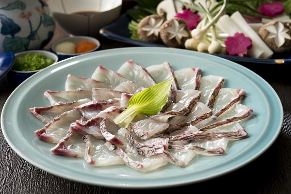 桜鯛と春野菜のしゃぶコース
