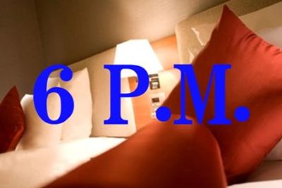 ♪【6PM】~午後6時以降のチェックインでお得にステイ!(食事なし)