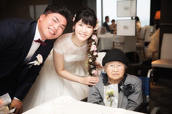 『家族になろう』イメージ通りの、家族、親族だけのアットホームな披露宴