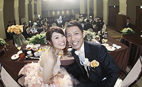 晴れやかで絆が深まる『THE結婚式』